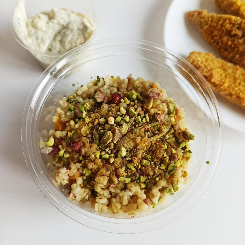 Bulgur saláta